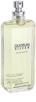 Antonio Puig Quorum Silver eau de toilette teszter férfiaknak