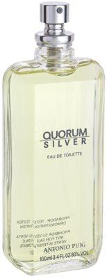 Antonio Puig Quorum Silver toaletní voda tester pro muže