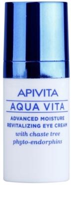 Apivita Aqua Vita crema revitalizante e hidratante intensiva para contorno de ojos