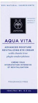 Apivita Aqua Vita intenzivna vlažilna in revitalizacijska krema za predel okoli oči 3