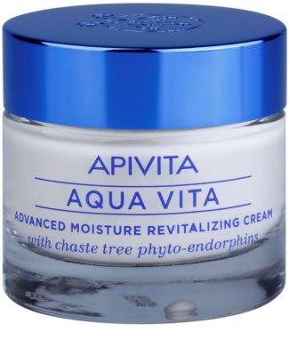 Apivita Aqua Vita crema hidratanata si revitalizanta intensiva pentru piele foarte uscata