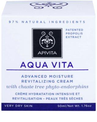 Apivita Aqua Vita intensive feuchtigkeitsspendende und revitalisierende Creme für sehr trockene Haut 2