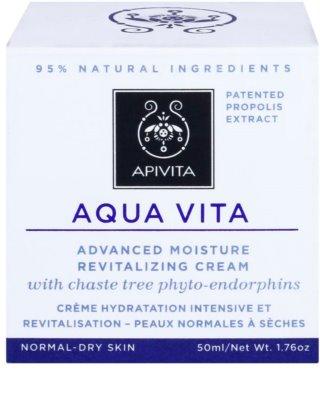 Apivita Aqua Vita intensywnie rewitalizujący krem do cery normalnej i suchej 2