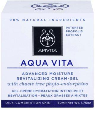 Apivita Aqua Vita intenzív hidratáló és revitalizáló krém kombinált és zsíros bőrre 2