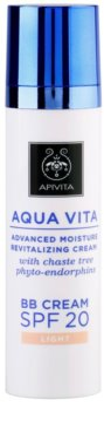 Apivita Aqua Vita hydratační a revitalizační BB krém SPF 20