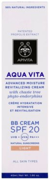Apivita Aqua Vita hydratační a revitalizační BB krém SPF 20 3