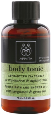 Apivita Body Tonic Bergamot & Green Tea Dusch- und Badgel