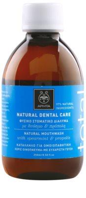 Apivita Natural Dental Care Total вода за уста