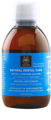 Apivita Natural Dental Care Total ústní voda 1