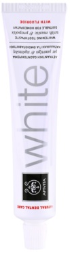 Apivita Natural Dental Care White bělicí zubní pasta