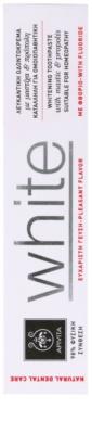 Apivita Natural Dental Care White bleichende Zahnpasta 2
