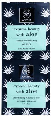 Apivita Express Beauty Aloe masca faciala hidratanta
