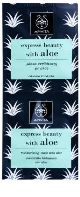 Apivita Express Beauty Aloe mascarilla facial hidratante