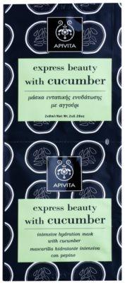 Apivita Express Beauty Cucumber ntensywnie nawilżająca maseczka