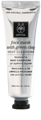 Apivita Express Beauty Green Clay maska głęboko oczyszczająca