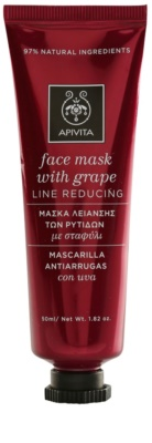 Apivita Express Beauty Grape mascarilla facial reafirmante y antiarrugas