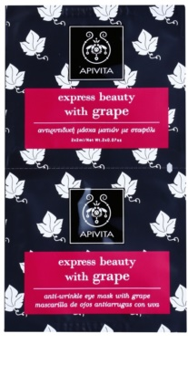 Apivita Express Beauty Grape máscara para olhos antirrugas