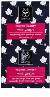 Apivita Express Beauty Grape oční protivrásková maska