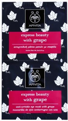 Apivita Express Beauty Grape околоочна маска против бръчки