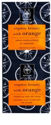 Apivita Express Beauty Orange відновлююча маска