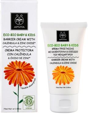 Apivita Eco-Bio Baby & Kids beruhigende Baby-Crem gegen Wundsein 1