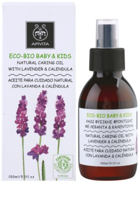 Apivita Eco-Bio Baby & Kids feuchtigkeitsspendendes und beruhigendes Öl für Kinder 2