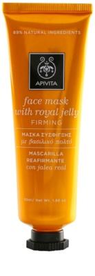Apivita Express Gold Royal Jelly máscara facial reafirmante e regeneradora