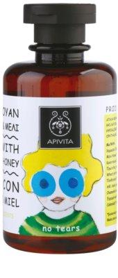 Apivita Kids Chamomile & Honey champô apaziguador  para crianças