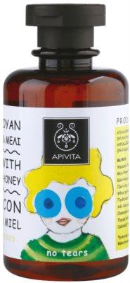 Apivita Kids Chamomile & Honey заспокоюючий шампунь для дітей