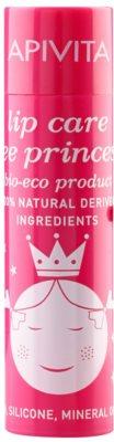 Apivita Lip Care Bee Princess feuchtigkeitsspendendes Lippenbalsam für Kinder