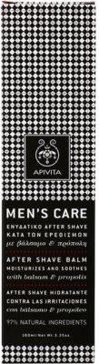 Apivita Men's Care Balsam & Propolis балсам след бръснене 3