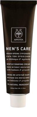 Apivita Men's Care Balsam & Propolis crema suave para el afeitado