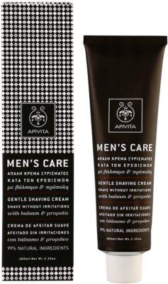Apivita Men's Care Balsam & Propolis jemný krém na holení 1