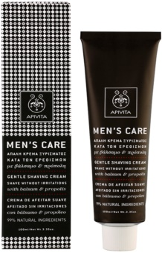 Apivita Men's Care Balsam & Propolis creme suave para barbear 1