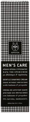 Apivita Men's Care Balsam & Propolis creme suave para barbear 2