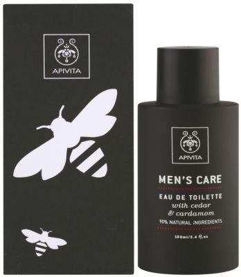 Apivita Men's Care Cedar & Cardamom eau de toilette para hombre