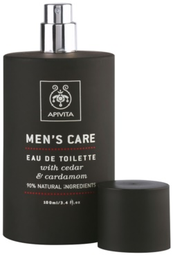 Apivita Men's Care Cedar & Cardamom eau de toilette férfiaknak 3