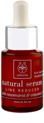 Apivita Natural Serum fiatalító ránctalanító szérum