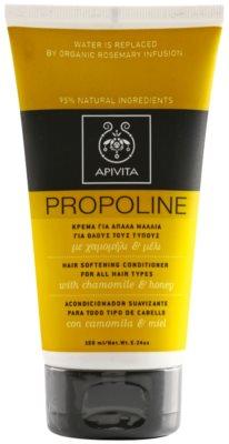 Apivita Propoline Chamomile & Honey balsam pentru toate tipurile de par