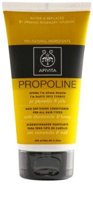 Apivita Propoline Chamomile & Honey condicionador para todos os tipos de cabelos
