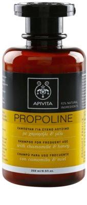 Apivita Propoline Chamomile & Honey Shampoo zur täglichen Anwendung
