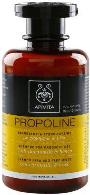 Apivita Propoline Chamomile & Honey шампоан  за ежедневна употреба