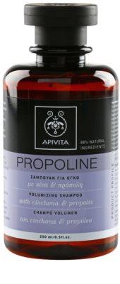 Apivita Propoline Cinchona & Propolis champô para volume