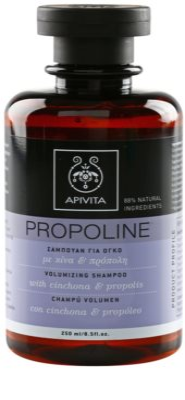 Apivita Propoline Cinchona & Propolis šampon za volumen