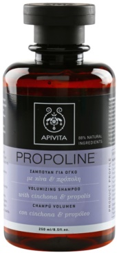 Apivita Propoline Cinchona & Propolis шампоан за обем