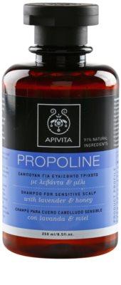 Apivita Propoline Lavender & Honey sampon pentru piele sensibila