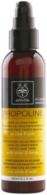 Apivita Propoline Olive & Honey feuchtigkeitsspendender Conditioner als Spray für alle Haartypen 1