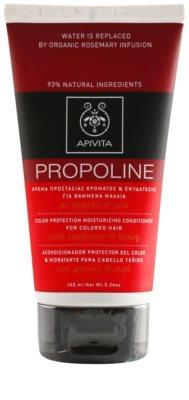 Apivita Propoline Sunflower & Honey feuchtigkeitsspendender Conditioner für gefärbtes Haar