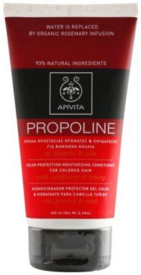Apivita Propoline Sunflower & Honey hydratační kondicionér pro barvené vlasy