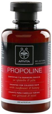 Apivita Propoline Sunflower & Honey шампоан  за боядисана коса